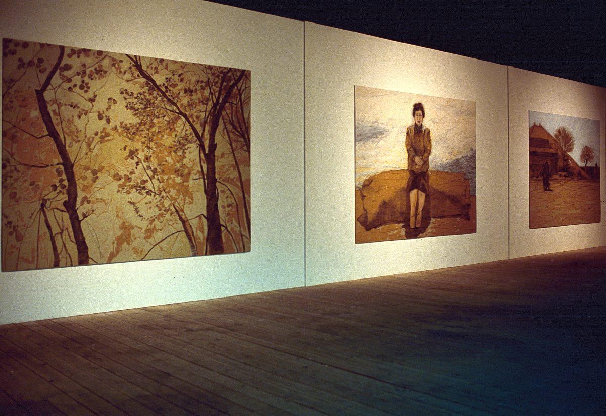 「消えない風景」会場風景 | 森田加奈子 Kanako MORITA