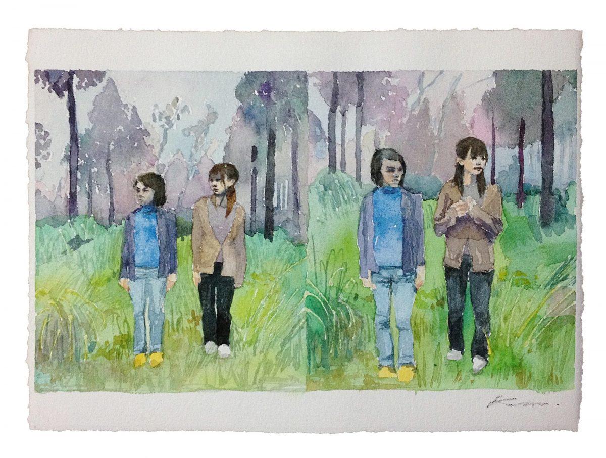 W 三人称ノ景 | 森田加奈子 Kanako MORITA