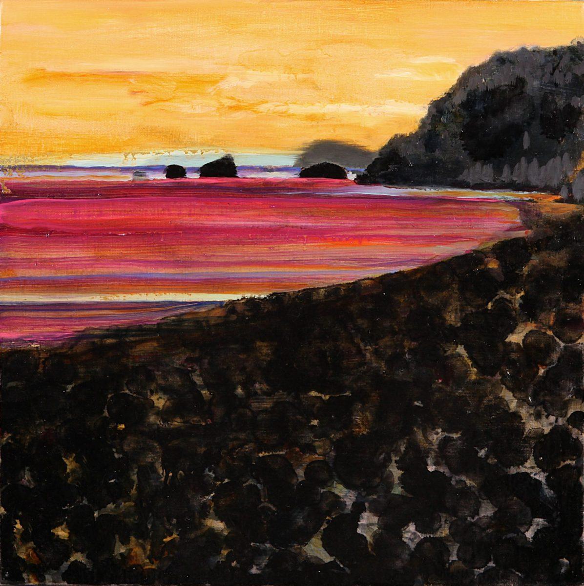 黒い浜 | 森田加奈子 Kanako MORITA